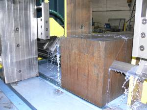 Soitaab gantry saw makes diagonal cuts